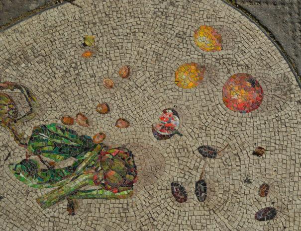 Mosaiken auf Gedänkstätte Turnertempel in Wien