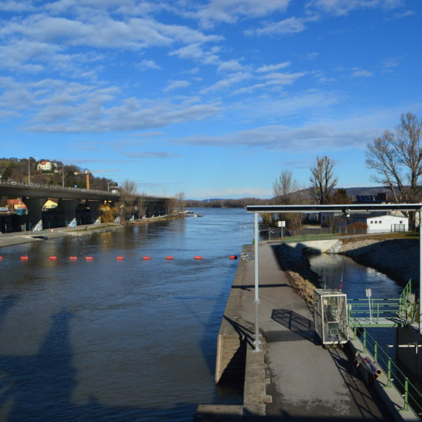 Donaukanal Wien und Brigittenauer Sporn