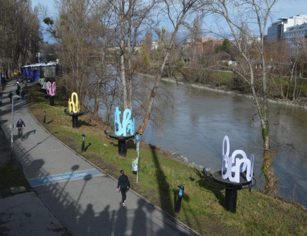Kunst am Donakanal