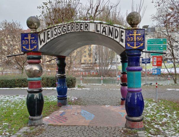 Weissgerber Lände Hundertwasser